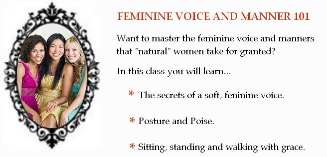 how to develop a feminine voice